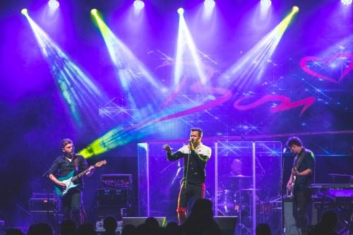 Luka Basi performing in Rakičan mansion 2020